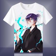 Yüksek Q Unisex Anime Cos Noragami Yato Iki Hiyori Yukine Nora pamuk günlük T-Shirt Tee T Shirt