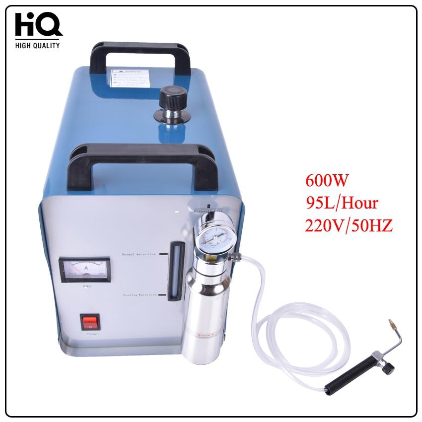 High Power Acrylic Flame Polishing Electric Grinder 600W 220V 95L/H H180 Polisher Machine
