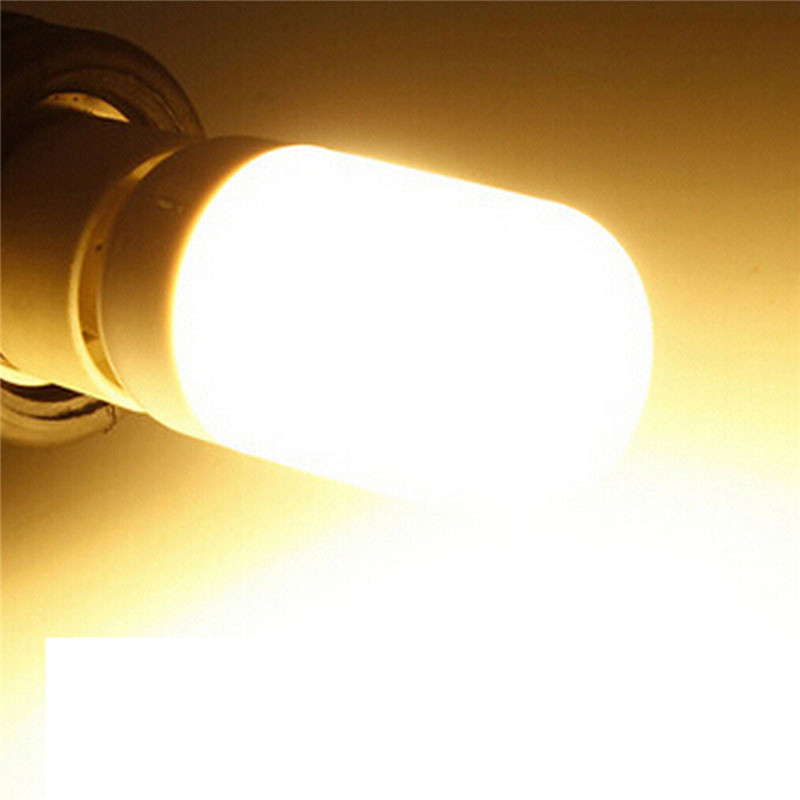 Купить с кэшбэком Fashion 12v corn bulb light 5730SMD 27leds E27 high bright Transparent shell /Frosted Cover white energy saving LED bulb
