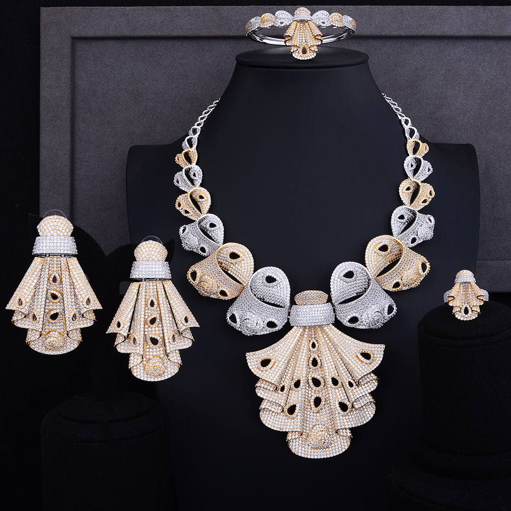 GODKI Luxury Cubic Zirconia  Nigerian Bridal  jewelry sets with clip Earring african beads jewelry set For Women Wedding DubaiGODKI Luxury Cubic Zirconia  Nigerian Bridal  jewelry sets with clip Earring african beads jewelry set For Women Wedding Dubai