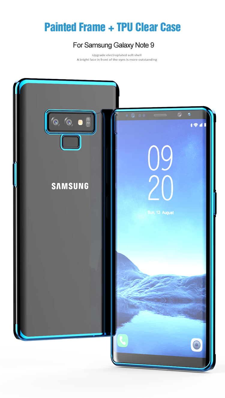another chance 62d7f f8e30 Phone Accessories - Crystal Clear Soft Phone Case For Samsung Note 9
