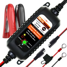 MOTOPOWER 12V 800mA Automatic Smart Battery Charger Maintain