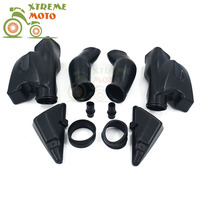 Motorcycle Air Intake Tube Duct Cover Fairing For HONDA CBR600RR F5 2003 2004 2003 2004 03 04