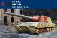 RealTS Trumpeter 09542 1/35 Scale German Stug E 100 Military Plastic Assembly Model Kit