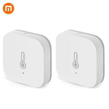 Xiaomi 2 PCS/lot AQara Smart Temperature Humidity Sensor ZigBee Wifi Wireless Work With Mi home App https://gosaveshop.com/Demo2/product/xiaomi-2-pcs-lot-aqara-smart-temperature-humidity-sensor-zigbee-wifi-wireless-work-with-mi-home-app/