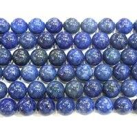 6mm Ronde Lapis Lazuli AB Grade Véritable Perle Semi-précieuses Semi Précieux Pierre En Gros Perles 4134 15 \ '\ 'L Bijoux Fournir