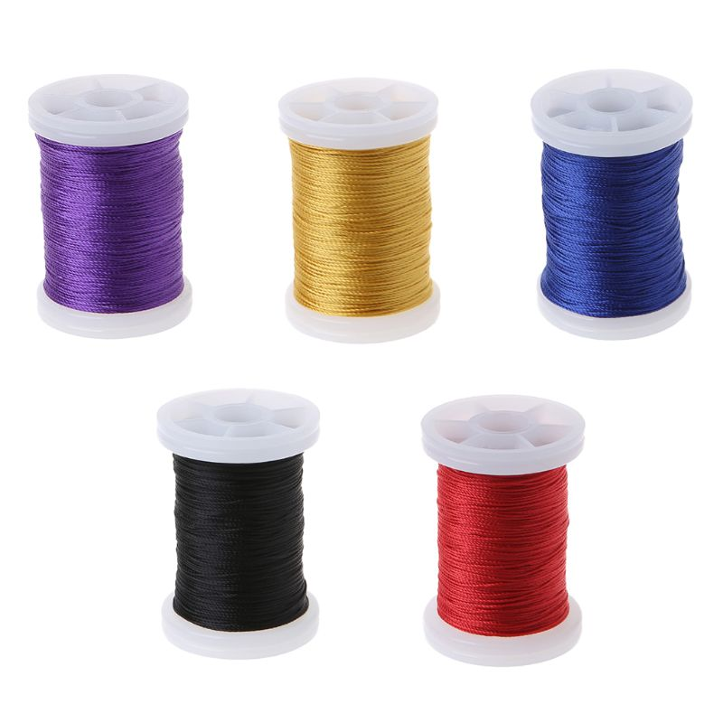 5 Color 0.4 mm 120 Meters Profession Bow string Serving thread 120m/Roll 0.02