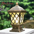 CONDUZIU a Luz Do Jardim Lâmpada Cerca Luzes Pilar Estigma europeia Lâmpada de Parede E27 Interface de Iluminação Fonte de Luz À Prova D' Água Ao Ar Livre