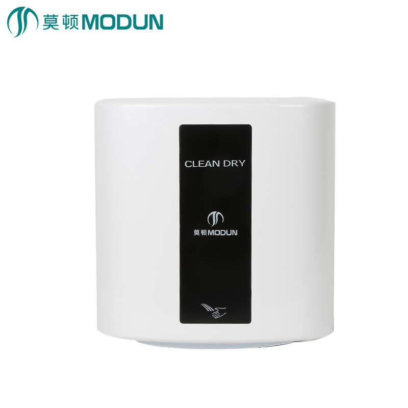 Modun high-speed hand-dryer commercial bathroom hotel automatic induction smart hot and cold hand dryer modun manufacturer 2300w commercial wall mount high speed automatic hand dryer