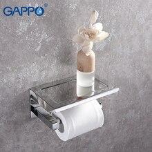 GAPPO бумажные держатели для ванной комнаты держатель для подвесного хранения Настенный аксессуары для ванной