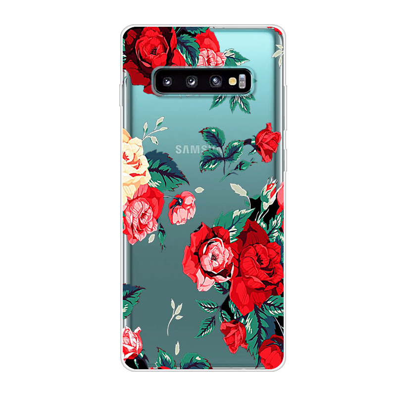 Cartoon Soft Case For Samsung S10 Plus Case Silicone Back Cover Phone Case For Samsung Galaxy S10 Plus Galaxys10 Lite S10E S 10