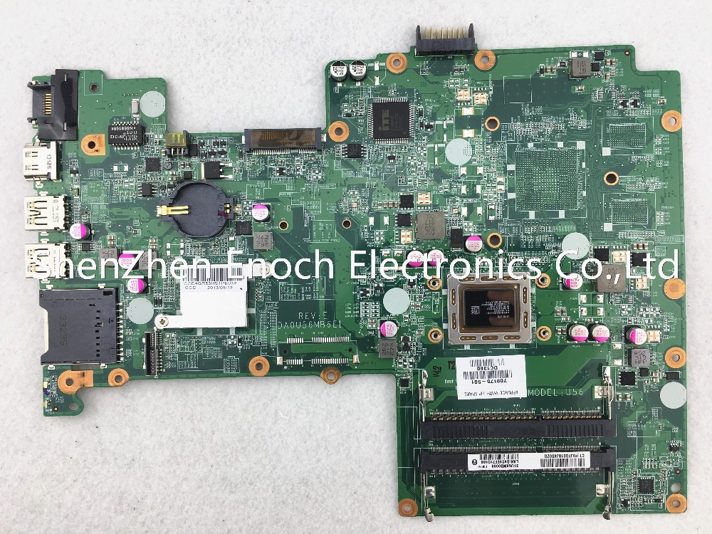 ФОТО 709175-501   for HP pavilion 15-B laptop motherboard integrated DA0U56MB6E1  stock No.198