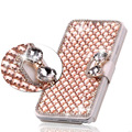 luxury Diamond case for iphone 4s 5s 6 6s 6 plus Rhinestone phone case handmade crystal back cover for iphone 7 7 plus