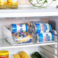 Classified refrigerator drawer storage box Desktop storage rack kitchen utensils finishing debris storage box