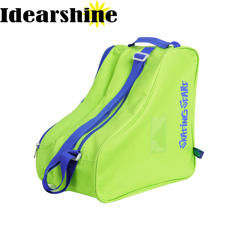 37cm*39cm*26cm Polyester Skate Bag Child Adult Skating Shoes Bag Roller Shoes Bag
