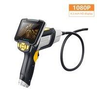 4,3 дюймов 1080P HD ручной эндоскоп Камера Экран Съемная CMOS Бороскоп