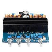 Nueva Llegada Durable Calidad Detalles sobre Nueva TDA7498 + TL072 2.1 Tablero Del Amplificador de Clase D 200 W + 2X100 W