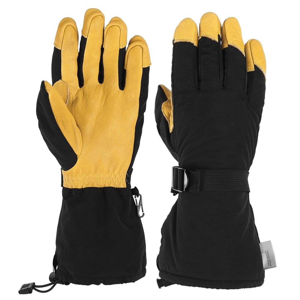 Doigt complet hiver ski gant imperméable à l'eau chaude motoneige Sport course ski escalade cyclisme équitation Sport Motocross gants