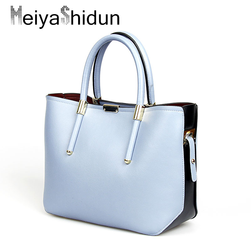 MeiyaShidun Fashion Genuine leather handbags women bag Luxury shoulder bags sac a main bolsos Evening clutch messenger bag totes timex timex tw5k94600