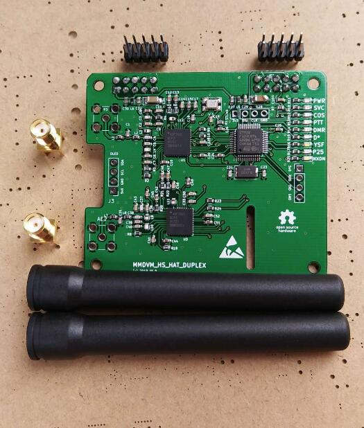 2018 Duplex MMDVM Hotspot Supporto P25 DMR YSF per Raspberry Pi + 2 pz X Antenna2018 Duplex MMDVM Hotspot Supporto P25 DMR YSF per Raspberry Pi + 2 pz X Antenna