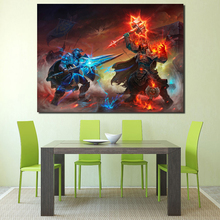 Wow Alliance Vs Horde World Of Warcraftes Canvas Painting Prints Bedroom Home Decor Artwork Modern Wall HD Art Posters