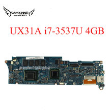 UX31A For ASUS Laptop Motherboard UX31A2 REV4.1 2.0 Mainboard with Intel Core i7 3537U 4GB Fully Tested 60 days warranty