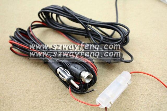 ANT29db 5V Feed 2 In 1 Car Digital DVB-T TV FM Radio Booster Antenna Aerial