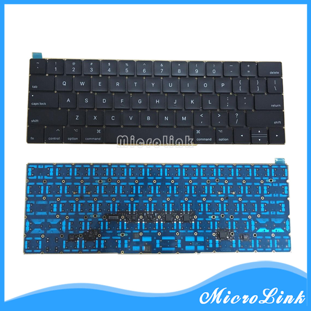 Original New A1707 US Keyboard for Macbook Pro 13.3 Retina US Layout 2016 2017 цена