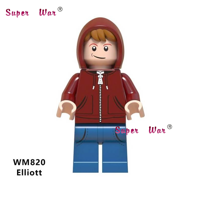 Toys & Hobbies Orderly Single Building Blocks Elliott E.t The Extra-terrestrial Science Fiction Family Movie Sheriff Deadpool Figures Toy For Children