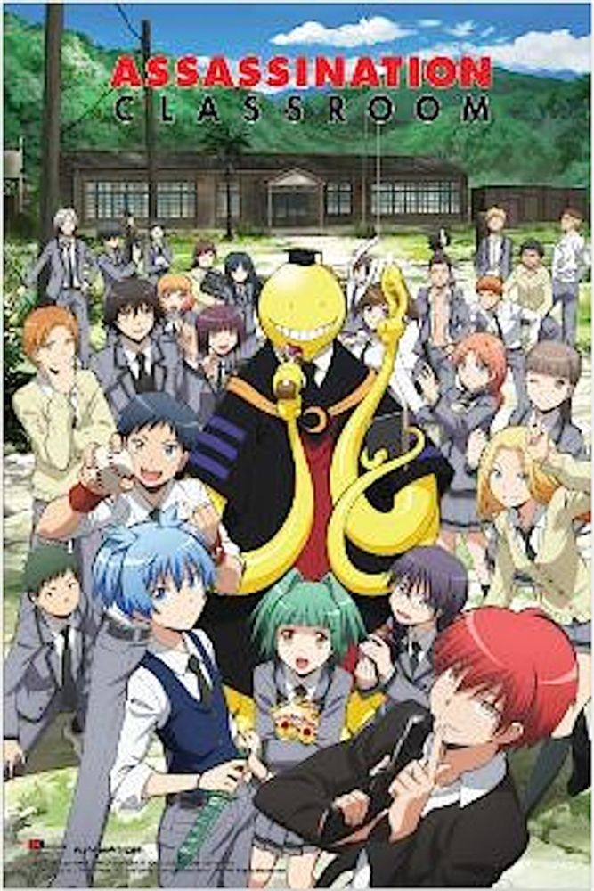 ASSASSINATION CLASSROOM ANIME MANGA SILK POSTER Decorative Wall Paint 24x36inch