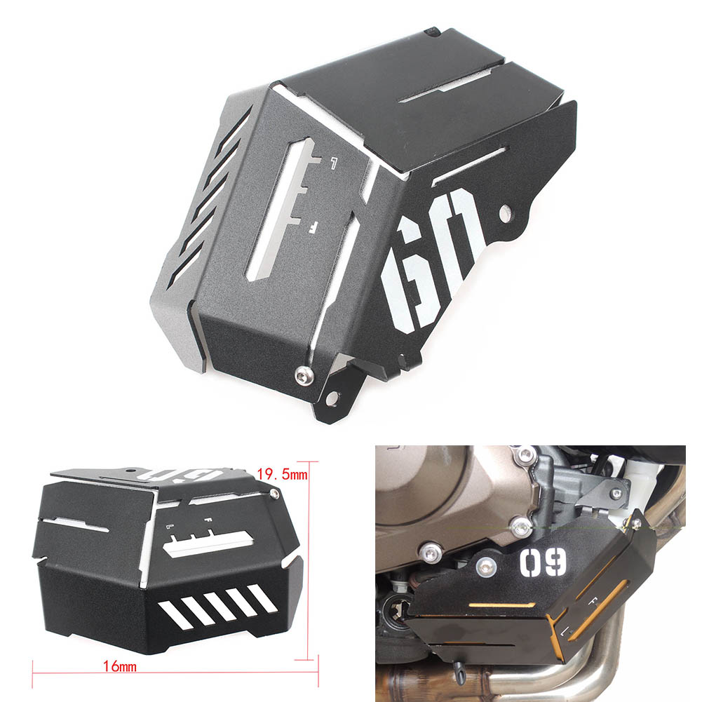 For Yamaha Motorcycle Water Coolant Reservoir Tank Radiator Guard Cover MT 09 MT09 FZ 09 FZ09 2014 2015 2016 2017 2018