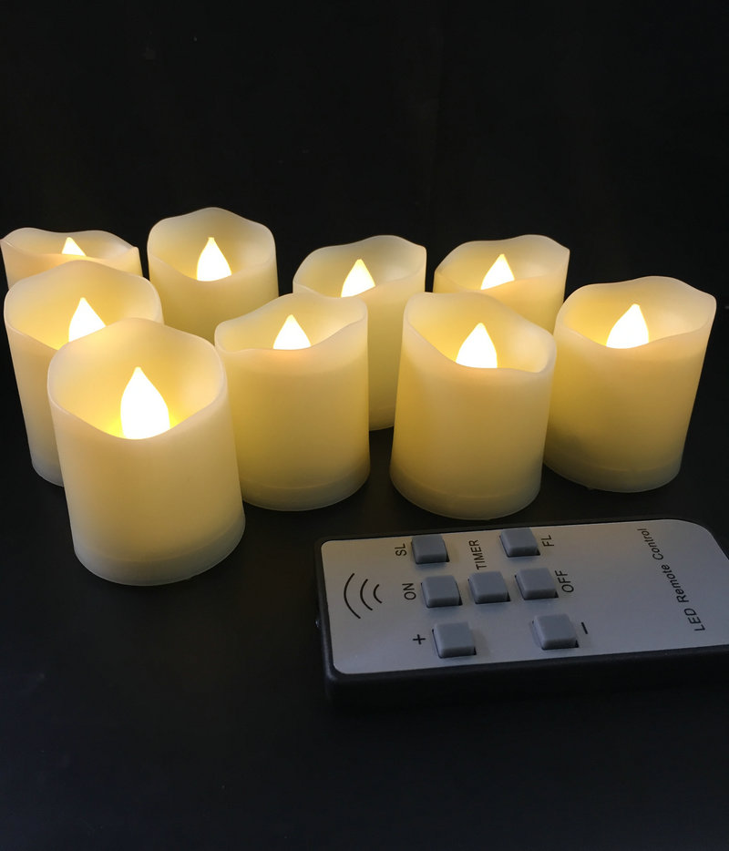 Pack of 12 x 6s Total 72 Candles Happy Shopper 6 Household Candles White