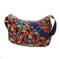 Multicolor Saco Do Mensageiro Da Lona Crossbody Bags Hobos Bolsa de Ombro Senhora Bolsa Femininas