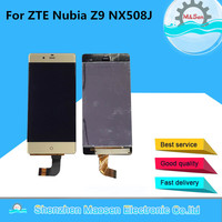 M Sen Lcd Screen Display Touch Panel Digitizer For 5 2 ZTE Nubia Z9 NX508J Gold