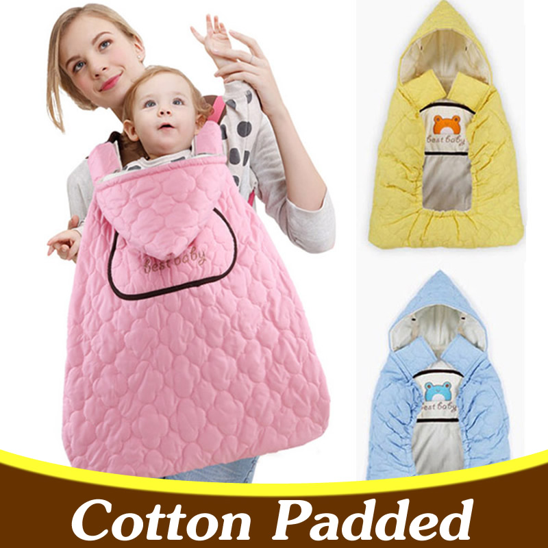 Activity & Gear Brilliant Cotton Padded Baby Swaddle Baby Carrier Sling Cloak Cape Autumn Winter Baby Carrier Cover Bd07 Modern Techniques Mother & Kids