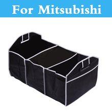Portable Car 3 Sections Trunk Back Storage Box For Mitsubishi Mirage Montero Montero Sport Outlander Pajero Mini RVR Space Star