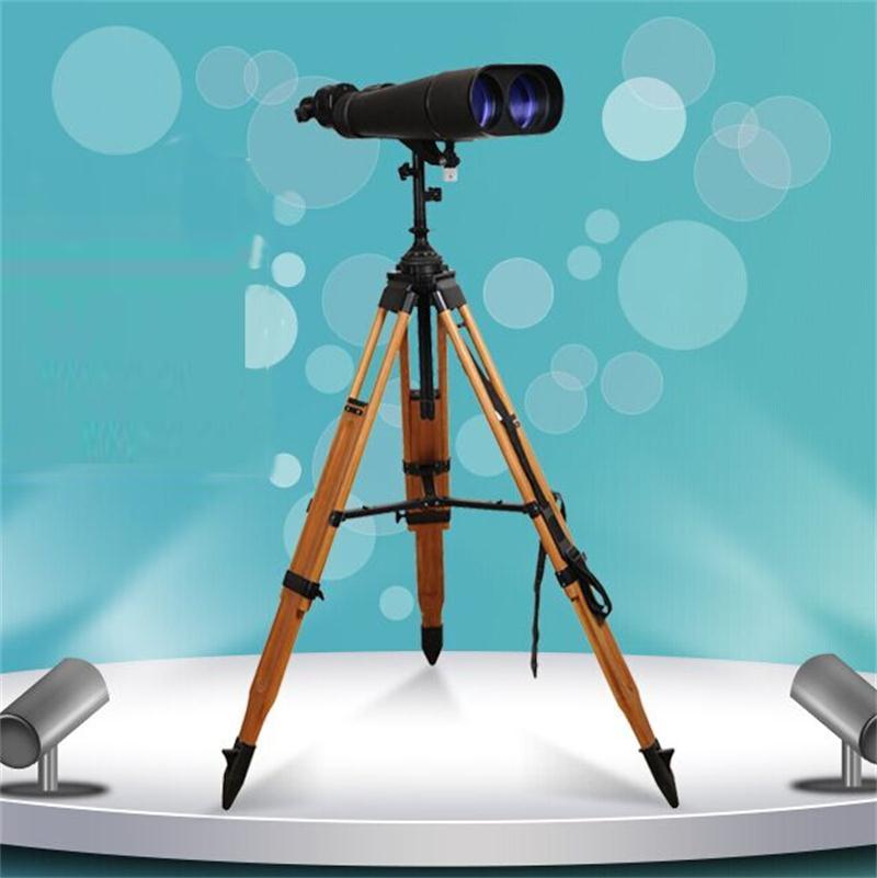 25/40*100 étanche longue portée télescope géant visualisation jumelles 100 avec trépied en bois grande astronomie binoculaire DH120