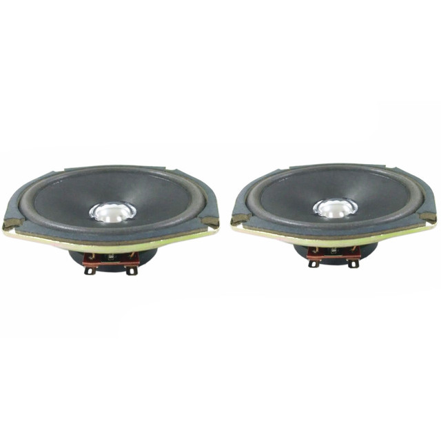 2Pcs Audio Speakers Tweeters Loudspeaker DIY Portable Dedicated Bubble Edge  Cone Speaker 8 Ohm 10 W 120MM-in Portable Speakers from Consumer