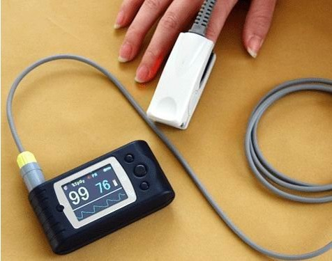 Handheld Pulse oximeter CMS60C, CE and FDA approved blood oxygen oxymetry ,SPO2 Monitor with software, Sleep study thomas c farrar pulse and fourier transform nmr