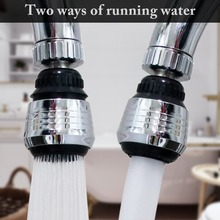 Zinc Alloy Shell 360 Degree Rotate Water Filter Faucet Nozzle Swivel Water Saving Tap Aerator Faucet Nozzle Filter Water Bubbler a1003 single port low grade faucet pure copper water nozzle laboratory water tap faucet