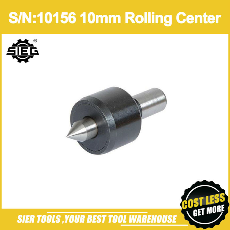 Free Shipping S N 10156 10mm Rolling Center SIEG C0 live center