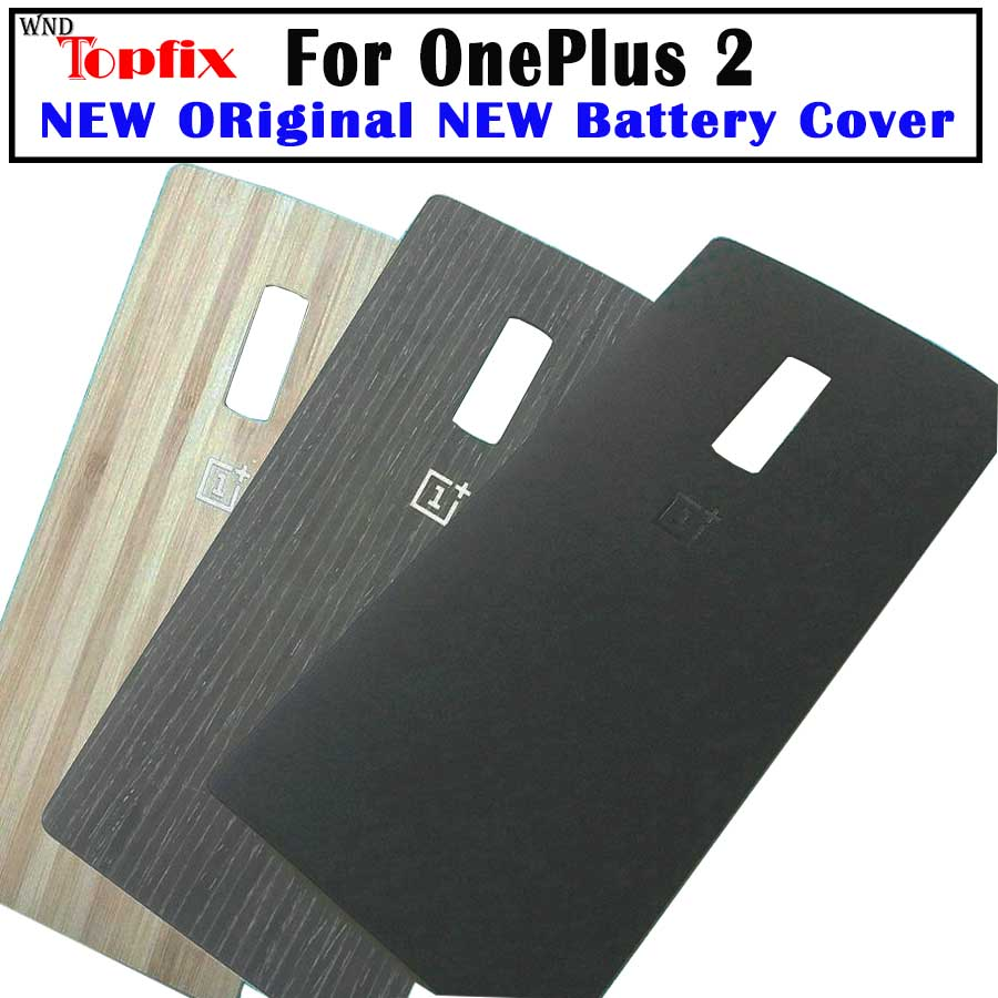 Original Oneplus Two Housing Back Battery Cover Rear Door Case Shell For Oneplus 2 Back Housing One Plus 1+2 Replacement Parts