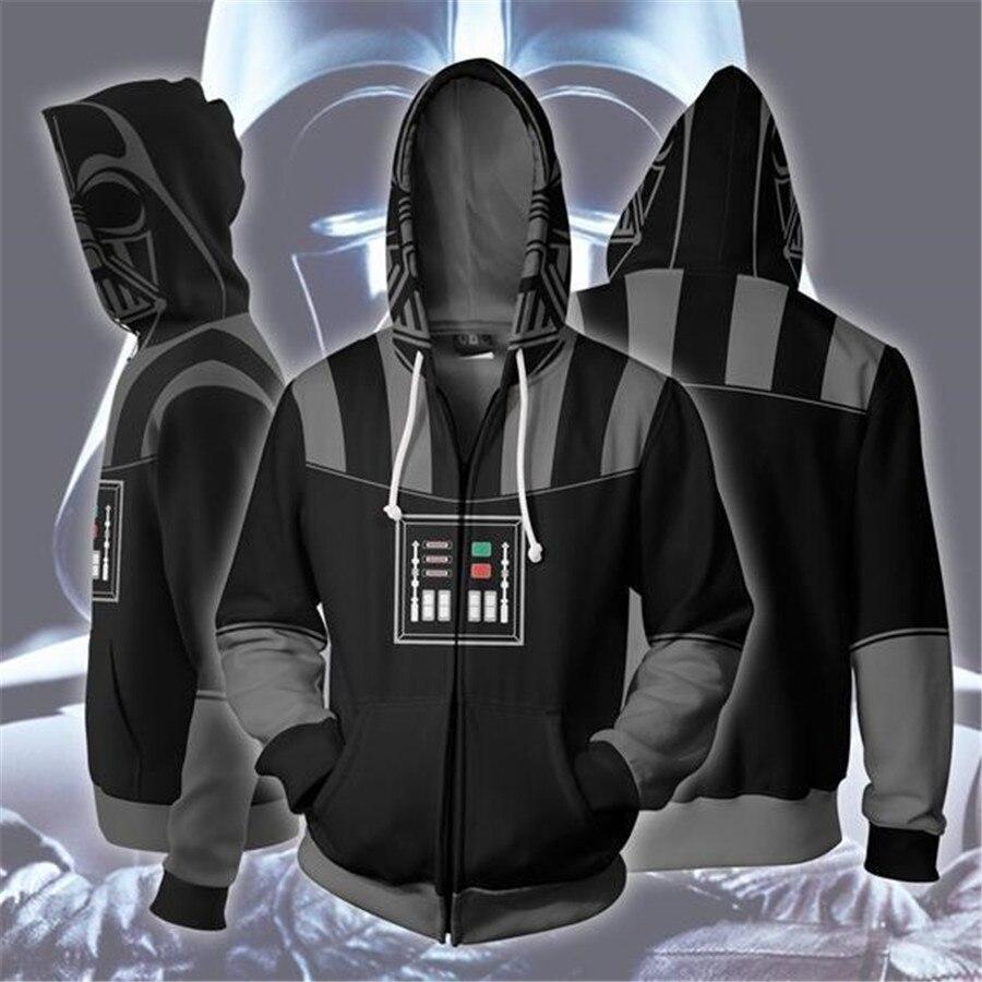 Star Wars Hoodies Sweatshirt Costumes Cosplay Darth Vader Anakin Skywalker Coat Jacket Outwear