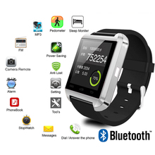 New U8 Smartwatch Bluetooth Smart Watch For IPhone IOS Android Smart Phone Wear Clock Wearable Device Smartwach PK GT08 DZ09 A1