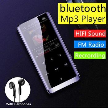 16GB bluetooth MP3 Player Earphones HiFi fm Radio mini USB mp3 Sports MP 4 HiFi Portable Music Players Voice Recording Recorder 1
