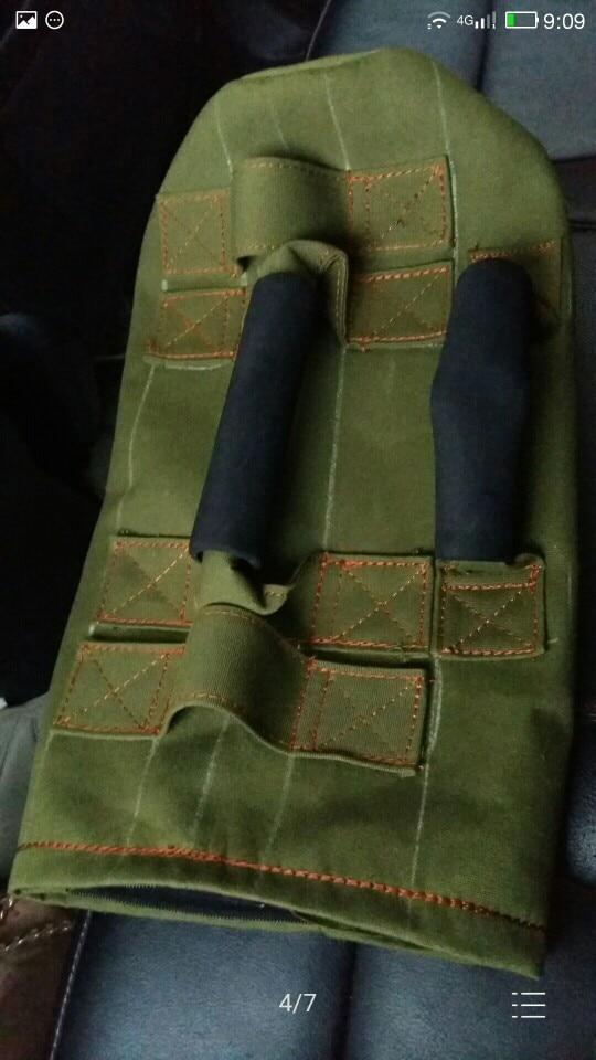 15kg क्षमता वजन कैनवस कपड़े शारीरिक प्रशिक्षण सैंड बैग मांसपेशियों की शक्ति बढ़ाएँ प्रशिक्षण Sandbag