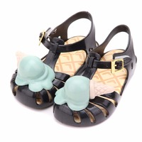 d0d98c18d ... niños Cute princesa bebé zapatos. Melissa Roman Ice Cream Girl Jelly  Sandals Children Cute Princess Sandals Baby Shoes Children Shoes Melissa