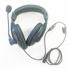 Noise canceling adjustable headphone K plug 2pins for Kenwood Baofeng Puxing Retevist Zasto
