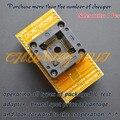 TQFP44 LQFP44 QFP44 test socket CNV-QFP44-DIP40  programmer adapter QFP44 to DIP40 adapter Pitch=0.8mm