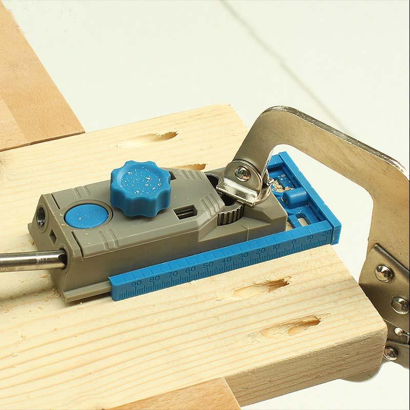 System przyrządów do obróbki drewna kieszonkowego AMYAMY Wiercenie - Akcesoria do elektronarzędzi - Zdjęcie 3